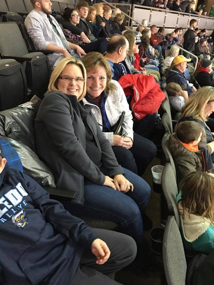 Toledo Walleye Game 2017